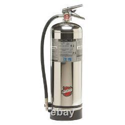BUCKEYE 50000 Fire Extinguisher, Water, 2-1/2 gal, 25,2A