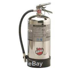 BUCKEYE 50006 Fire Extinguisher, 1AK, Wet Chemical, 6 L
