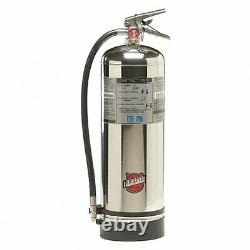 BUCKEYE Water Fire Extinguisher 2.5 gal, 2A UL Rating 35WT24 Stainless NEW