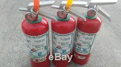 Badger 5lb Halon 1211 Clean Agent Fire Extinguisher Fully Charged Ships Free