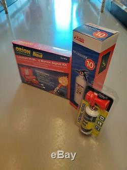 Boat Coast Guard Saftey Required Kit Flares Horn fire extinguisher