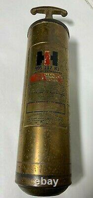 Brass International Harvester Fire Extinguisher 995117
