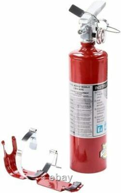 Buckeye 13315 (4 Pack) 2.5 lb Fire Extinguisher ABC Dry Chemical Rechargeable with