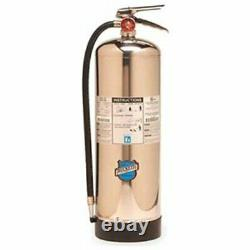 Buckeye 50000 Stainless Steel Water Pressurized Hand Held Fire Extinguisher with
