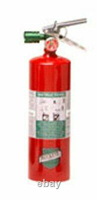 Buckeye 70258 Halotron Hand Held Fire Extinguisher with Aluminum Valve and Wall