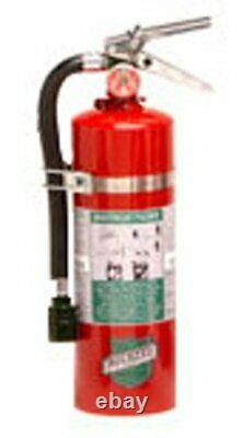 Buckeye 75550 Halotron Hand Held Fire Extinguisher with Aluminum Valve, 5.5 lbs