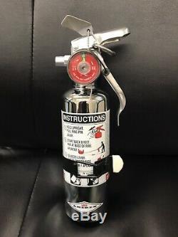 Chrome 1 1/4 Lb Fire Extinguisher