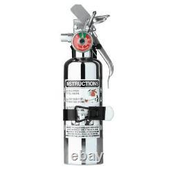 Chrome Fire Extinguisher HalGuard
