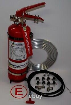 Cold Fire Racing 2.25 Liter 5lb Fire Extinguisher System Firefreeze Firecharger