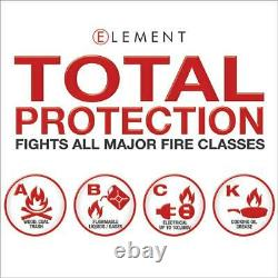 Element Fire E100 Industrial Portable Fire Extinguisher 40100