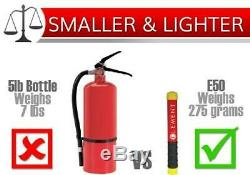 Element Fire Extinguisher Seat Rail Mount with E50 Fire Extinguisher Package