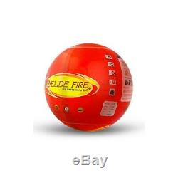 Elide Fireball Extinguisher Fire Safety Ball Throw Into Fire To Extinguish