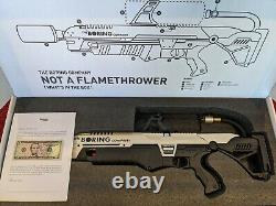 Elon Musk - The Boring Company - Not A Flamethrower With Fire Extinguisher