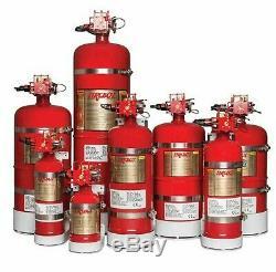 FIREBOY-XINTEX CG2 Automatic Discharge Fire Extinguisher 50 Cu. Ft, 2.2 lb