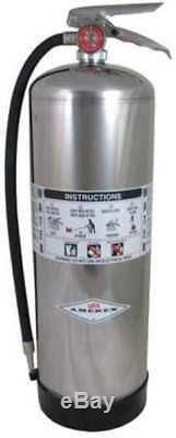 Fire Extinguisher, 2A, Water, 2-1/2 gal, 24-1/2H AMEREX 240