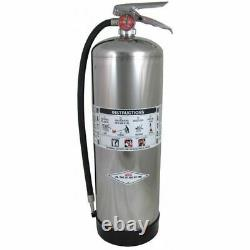 Fire Extinguisher, 2A, Water, 2.5 gal freeship G4279003