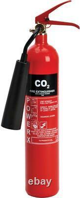 Fire Extinguisher 2Kg Co2 Steel 81/02906