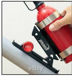 Fire Extinguisher Billet Bracket Burnout Drift Drag Race Hill Climb Ford FPV GT