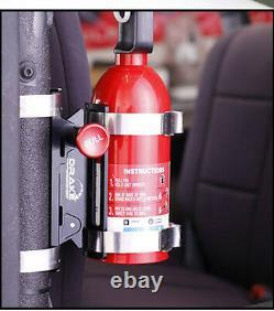 Fire Extinguisher Billet Bracket Burnout Drift Drag Race Hill Climb STI EVO HSV