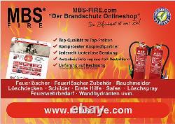 Fire Extinguisher Box Schutzkasten For 6Kg Red Box 6 TOPLADER Truck Mounting