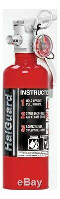 Fire Extinguisher Halguard Halotron 1 Class ABC 1B C Rated 1.4 lb Mo