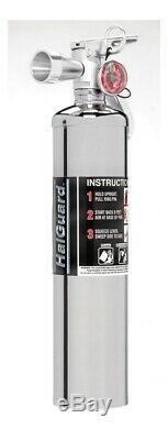 Fire Extinguisher Halguard Halotron 1 Class ABC 1B C Rated 2.5 lb Mo