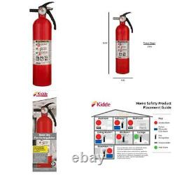 Fire Extinguisher Home Car Auto Garage Kitchen Emergency 3.9 lb 1-A10-BC