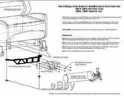 Fire Extinguisher Installation Kit for Pontiac GTO 2004-2006 & G8 2008-2009
