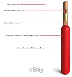 Fire Extinguisher Mini Automatic Perfect for Valuable Electronics