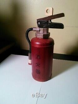 Fire Extinguisher Wood Puzzle Box Winner Idea Contest 2015 Karakuri Creation