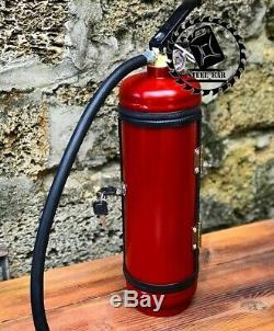 Fire extinguisher mini bar NEW jerry can picnic man cave handmade metal gift