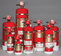 Fireboy MA20050227 Manual-Automatic Discharge Fire Extinguisher System 50 cu ft