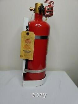 Fireboy Model MA20175227/BL Clean Agent Fire Extinguisher 175.0 cu. Ft 1of 3