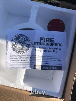 Flame Defender Automatic Fire Extinguisher 12kg 26.46lb Brand New