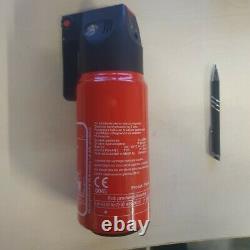Gloria Fire Extinguisher Pulverdauerdrucklöscher 1 kg Abc Powder Car Car, 28x9cm