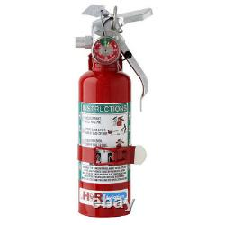 H3R A344T Halon 1211 Fire Extinguisher 1.25 lb. For Aviation
