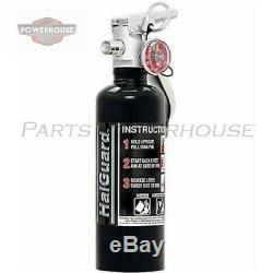 H3R HG100B 1.4 lb. Black clean agent fire extinguisher