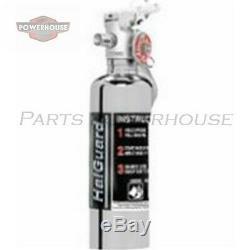 H3R HG100C 1.4 lb. Chrome clean agent fire extinguisher