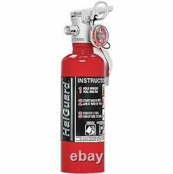 H3R HG100R 1.4 Lb HalGuard Fire Extinguisher Red