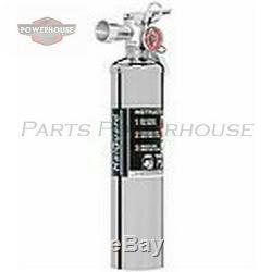 H3R HG250C 2.5 lb. Chrome clean agent fire extinguisher