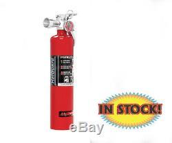 H3R HG250R 2.5 Lb HalGuard Fire Extinguisher Red