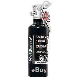 H3R Performance 1.4 lb. HalGuard Black Clean Agent Fire Extinguisher HG100B