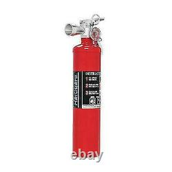 H3R Performance 2.5 lb. HalGuard Red Clean Agent Fire Extinguisher HG250R
