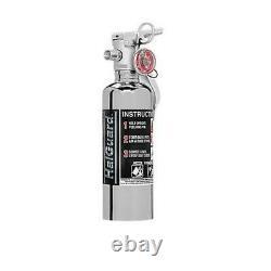 H3R Performance HG100C HalGuard 1.4 Lb. Fire Extinguisher, Chrome