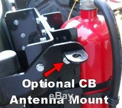 JM3 10lb. CO2 Tank or Fire Extinguisher MOUNT for Toyota FJ Cruiser ALL Years