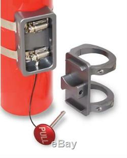 JOES RACING Products 12822 Fire Extinguisher Mount Bracket 1 1/2 1.5 Bar Clamp