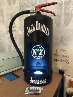 Jack Daniels Fire Extinguisher Light Display