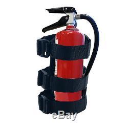 Jeep Wrangler Fire Extinguisher Holder Adjustable Roll Bar Mounted JK TJ CJ
