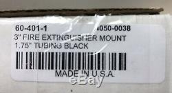 Joker Machine 3 Fire Extinguisher Mounting Bracket 1.75 Tubing Black 60-401-1