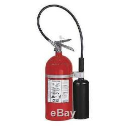 KIDDE PRO10CDM Fire Extinguisher, 10BC, Carbon Dioxide, 10 lb, 19-1/3H